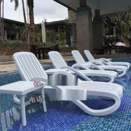 户外便捷式ABS塑料沙滩躺椅