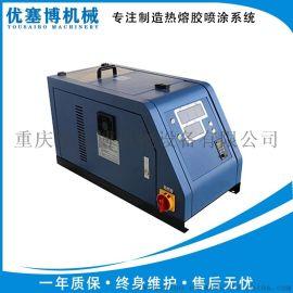 成都全自动热熔胶机 冰箱填充密封家具粘合
