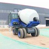 厂家供应 小型自上料混凝土搅拌车 多功能搅拌罐车