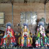 道教送子娘娘神像 生育之神三霄娘娘神像 三仙姑佛像