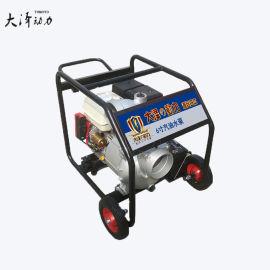 6寸汽油抽水泵防涝灾害
