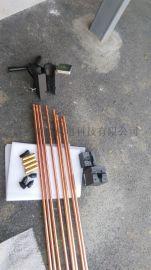 UL镀铜厚度0.254mm镀铜钢接地棒