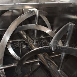 锂锰电池能源干粉物料混合卧式螺带混合机