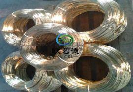 装饰品黄铜线 高精C2700黄铜丝 软态黄铜盘线
