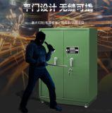 加厚管制器械柜密码锁加机械锁带滚轮