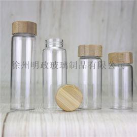 玻璃密封瓶保健品瓶茶罐药粉瓶胶囊瓶糖果瓶