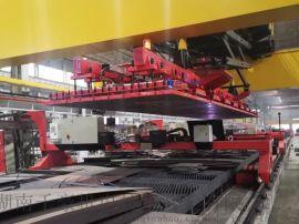 钢板起重吊具一种集群阵列式钢板下料电永磁吊具
