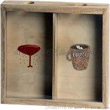 (紅酒盒木製品)啤酒瓶蓋實木酒盒