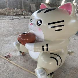 广州商业广场卡通雕塑 玻璃钢公仔卡通雕塑美陈