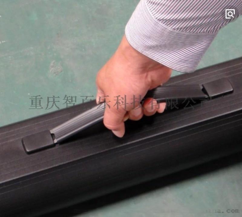 玻璃线编织灰玻纤幕布 重庆市智百乐120寸幕布