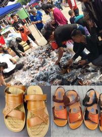 地摊新产品俄罗斯**牛皮凉鞋有口碑的