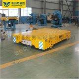 2噸電動移動平臺車間遙控過跨運輸電動軌道車