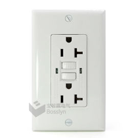 美式漏电保护插座 GFCI插座 美标墙壁插座