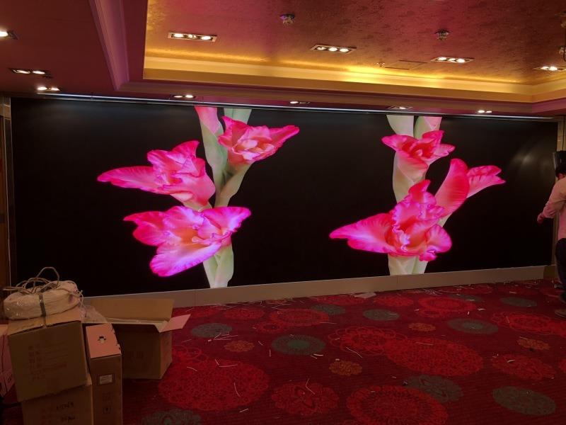酒吧点歌LED大屏幕,舞台背景P2.5大屏幕