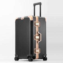 工厂直销时尚运动版铝镁合金拉杆箱万向轮行李箱旅行箱