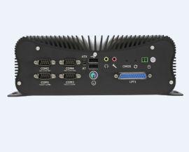 4网6网工控机嵌入式无风扇视觉