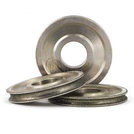 订做玻璃倒角用内弧金刚石砂轮 1FFY6电镀磨边轮