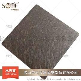 佛山多种规格不锈钢彩色板 304 电梯门套装饰板 玫瑰金拉丝镜面板