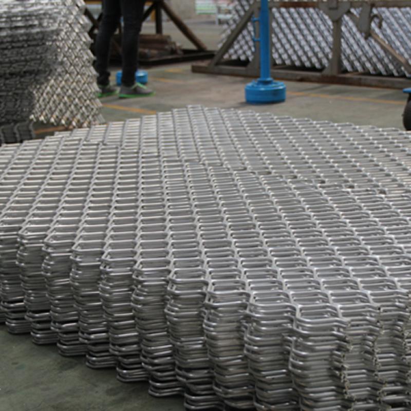 佛山 铝合金美格网型材 拉网 规格定制