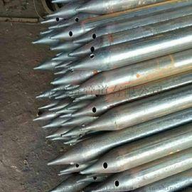 建材钢花管50注浆管厂家现货