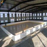 厂家定做冰球场围挡界墙可拆卸
