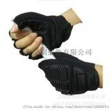平安国际娱乐平台加工手套防撞防事故专业劳保手套摩托车手套半指
