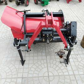 四轮拖拉机培土埋藤机,单侧覆土葡萄埋藤机