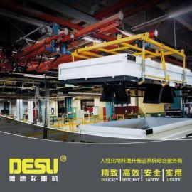 0.25吨KBK伸缩梁悬挂起重机