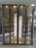 鈦金酒櫃 玫瑰金不鏽鋼酒櫃酒架 熱銷款不鏽鋼酒櫃
