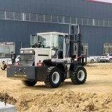 厂家直销 越野叉车 5吨山工地用四驱叉装机