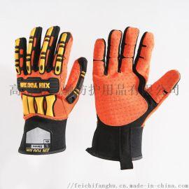缝制TPR机械手套石油手套工具手套