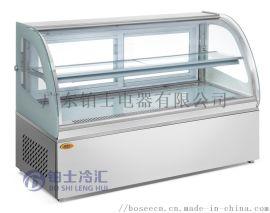 掌柜迪蛋糕柜冷藏柜弧形台式保鲜柜冷藏展示柜