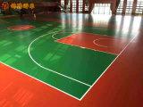 张家界水性硅pu篮球场地面施工 塑胶羽毛球场材料
