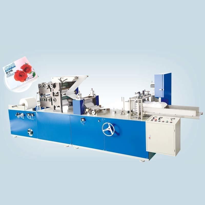 HX-CJ-200~400双色彩印餐巾纸机