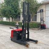 搬运用锂电叉车载重两吨站驾式仓库物流