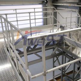 厂家**铝合金组装式护栏 规格可定制