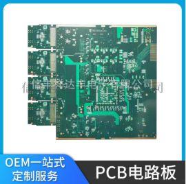 5G信号基站十六层PCB板高频板线路板