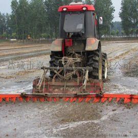 一马牌4.9米水田整平用不锈钢平地机