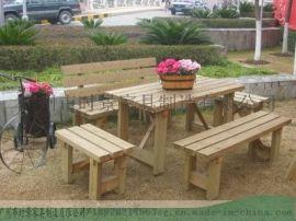 园林桌椅、桌椅家具、实木桌椅