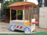 茶颜悦色特色奶茶店加盟售賣車设计定制-找時景家具