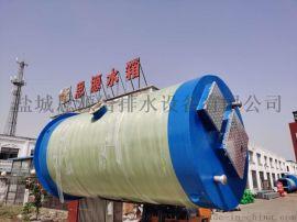 市政修复改造工程预制式一体化污水提升泵站