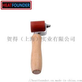 热风塑料焊枪配件4cm公分硅胶压轮耐高温手持压滚辊
