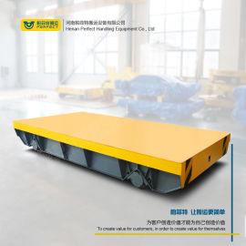运输食品辊轮低压轨道取电电动搬运平车非标定制