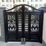 蘭州安寧區鋁藝大門紅古銅鐵藝欄杆