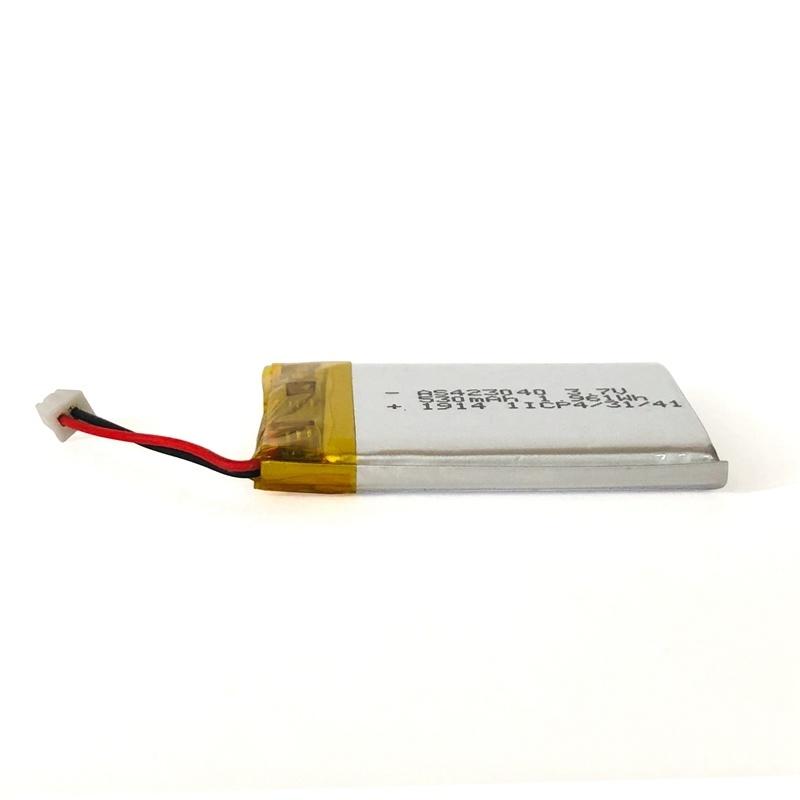 423040 3.7v 530mah 聚合物电池