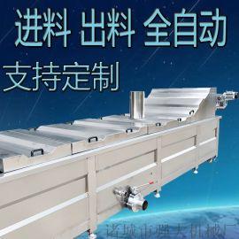 食品巴氏杀菌冷却漂烫流水线 全自动低温灭菌设备