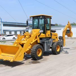 济宁沃特 小型两头忙挖掘机 两头忙铲车挖掘机