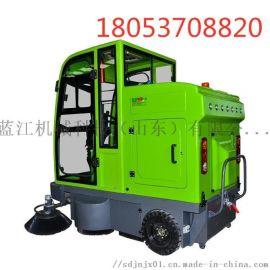 电动驾驶式扫地机 电动扫路车 封闭驾驶式扫地车
