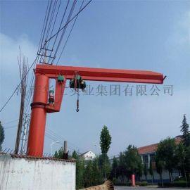250公斤小型悬臂吊 立柱式悬臂吊图片 电动旋臂吊