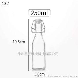卡扣瓶玻璃密封罐出口不锈钢卡扣罐子生产厂家